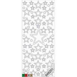 Stickers - 0856 - noel - rouge