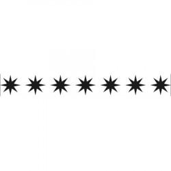Classeur d'embossage bordure étoile 15x2 cm