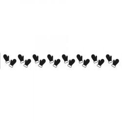 Classeur d'embossage bordure mouffles 15x2 cm