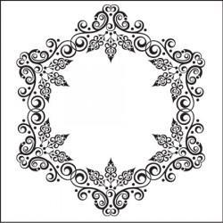 Classeur d'embossage cercle 13x13 cm