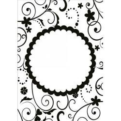 Classeur d'embossage ornement cercle 10,6x15 cm