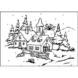Classeur d'embossage Noël N°5 10,6x15 cm