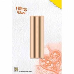 Die Quilling 10 bandelettes 18x 0.3 cm