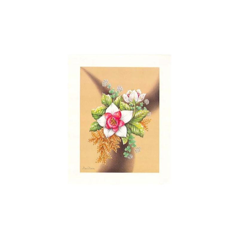 Image pour tableau 3d ASTRO 461 - 24X30 - BOUQUET DE FLEUR ROSE ET BLANC - Aux bleuets Loisirs créatifs à Reims