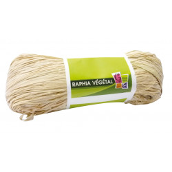 RAPHIA VEGETAL NATUREL