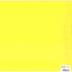Feuillefeutrine30x30cm 2mm jaune