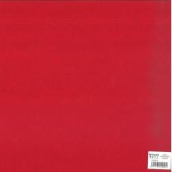 Feuillefeutrine30x30cm 2mm rouge