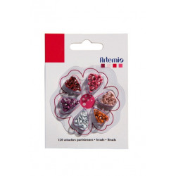 ARTEMIO Mini Attaches parisiennes Rouge