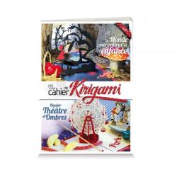 Cahier de kirigami n°20 - monde merveilleux de l'enfance