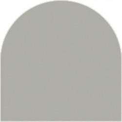 Feuille autocollante 10X23 cm Argent Mat