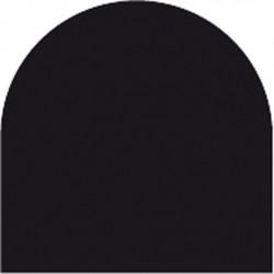 Feuille autocollante 10X23 cm Noir Mat