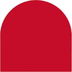 Feuille autocollante 10X23 cm Rouge Mat