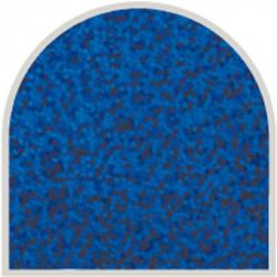 Feuille autocollante 10X23 cm Bleu grosses paillettes