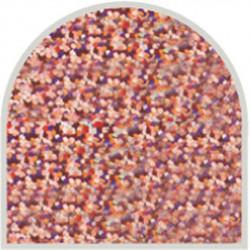 Feuille autocollante 10X23 cm Rose grosses paillettes