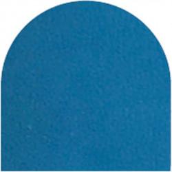 Feuille autocollante 10X23 cm Bleu ciel  effet miroir