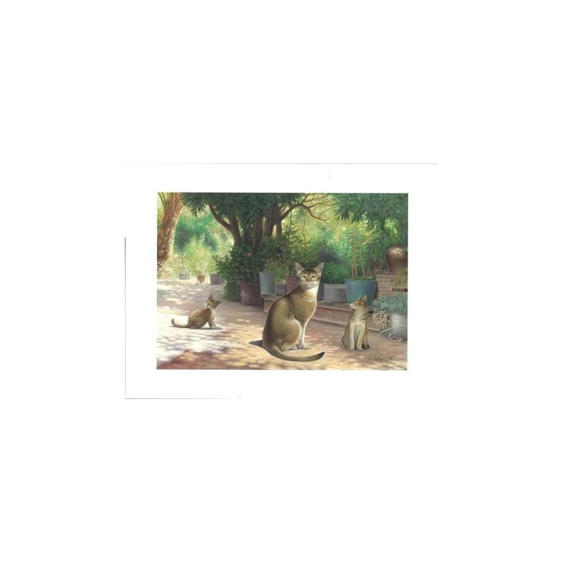 Image pour tableaux 3D - ASTRO 392 - 24X30 - 3 CHATS ASSIS - Aux bleuets Loisirs créatifs à Reims