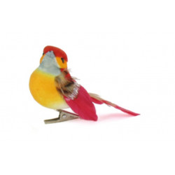 ARTEMIO Set de 6 petits oiseaux