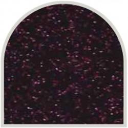 Feuille autocollante 10X23 cm Noir fines paillettes