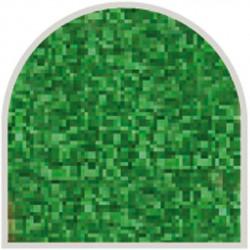 Feuille autocollante 10X23 cm Vert fines paillettes