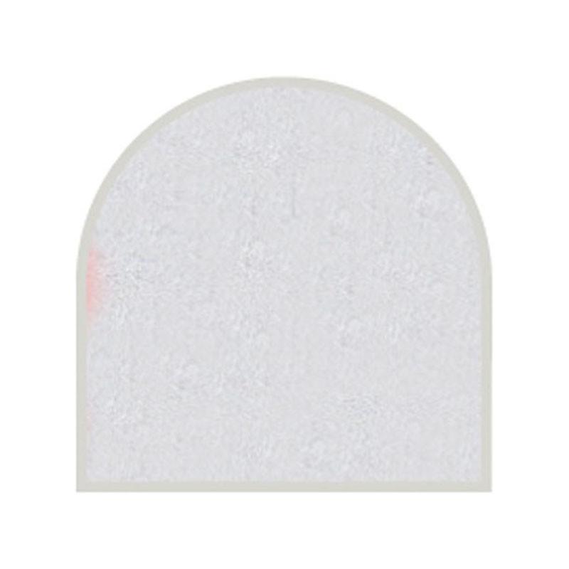 Feuille autocollante 10X23 cm Argent effet perlé