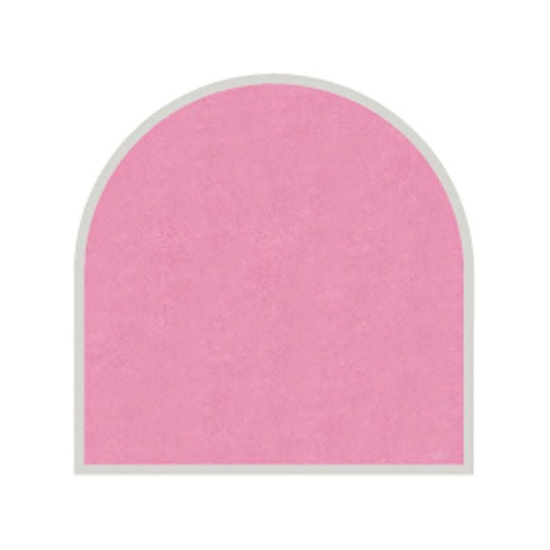 Feuille autocollante 10X23 cm Rose effet perlé