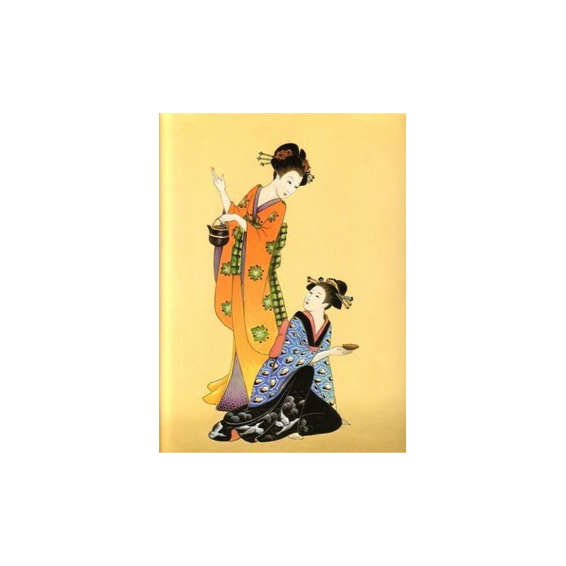 Image pour tableaux 3D - OR 31 - 24X30  - CHINOISE ASSISE ET DEBOUT  -  Aux Bleuets Loisirs créatifs à Reims