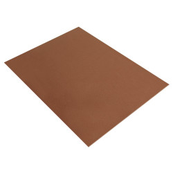 PLAQUE DE MOUSSE THERMOFORMABLE 2MM 30X40 CM BRUN  MOYEN