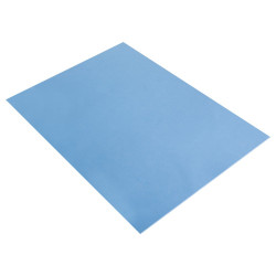 PLAQUE DE MOUSSE THERMOFORMABLE 2MM 30X40 CM BLEU CLAIR