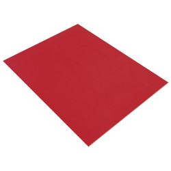 PLAQUE DE MOUSSE THERMOFORMABLE 2MM 30X40 CM ROUGE