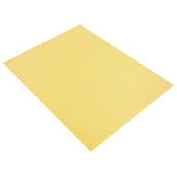PLAQUE DE MOUSSE THERMOFORMABLE 2MM 30X40 CM JAUNE