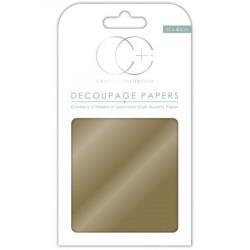Papier Patch 3 Feuilles 35x40 cm Métallisée Or