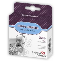 Coins photos transparents Boîte de 250