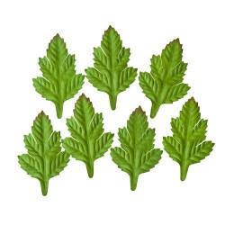 Feuilles vertes paquet 7 feuilles