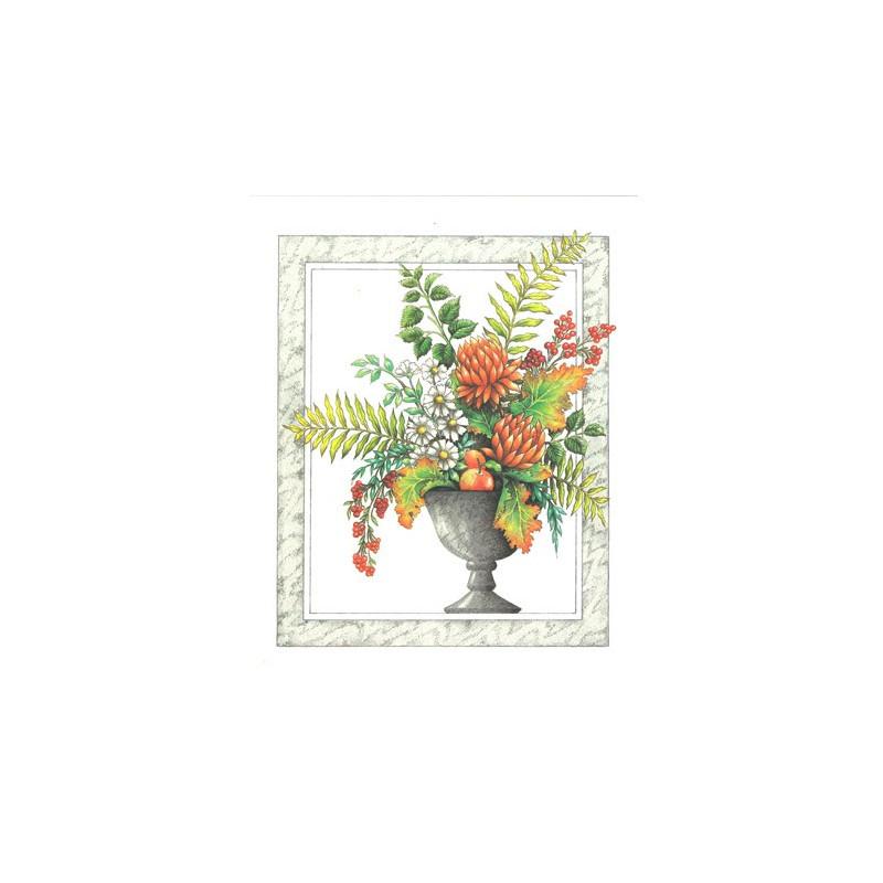 RO16 - 20x25 - Vase fleuri