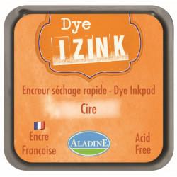 ENCREUR IZINK DYE ORANGE CIRE  7x7 cm
