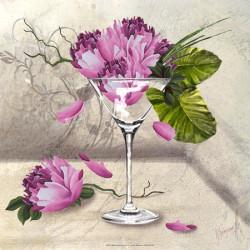 Image pour tableaux 3D format 30x30 cm  GK3030060 - 30X30 - Martini flower