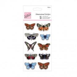 Autocollants 3D Papillon