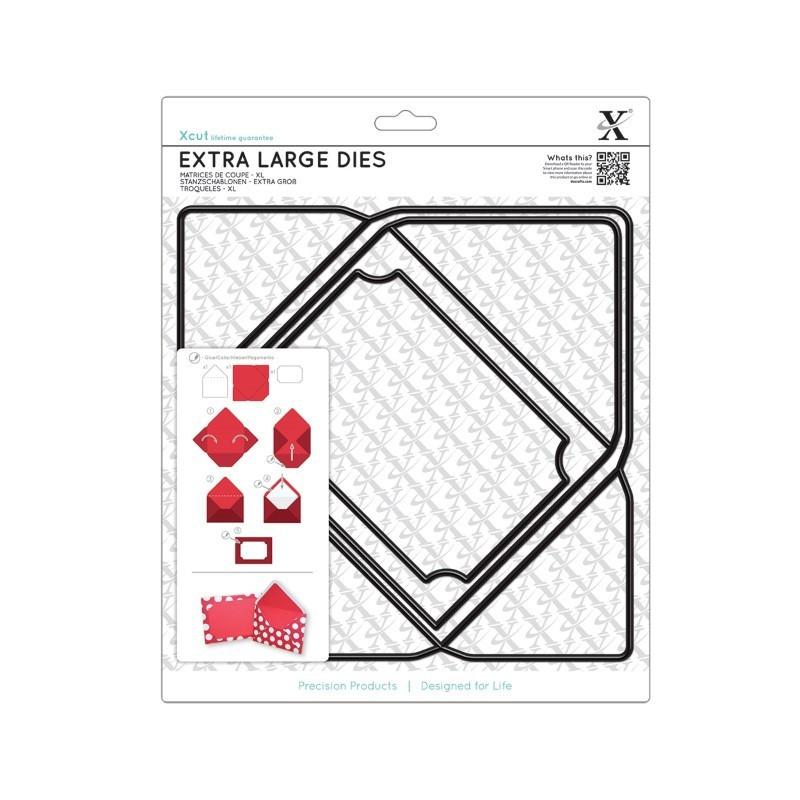 Matrices De Coupe XL (3pcs) - Enveloppe