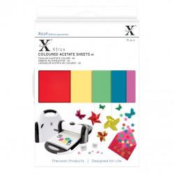 Xcut Xtra A5 Feuilles Acétate coloré