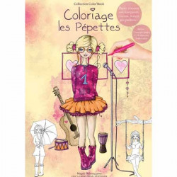 Color Book A4 - 32 pages - Pépettes