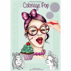 Color Book A4 - 32 pages - Pop