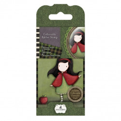 Santoro mini Tampon aoutchouc collector n° 14 little red