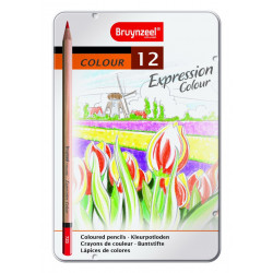 Bruynzeel expression couleur 12 crayons