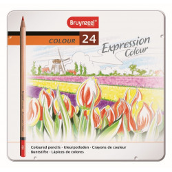 BRUYNZEEL Expression couleur 24 Crayons
