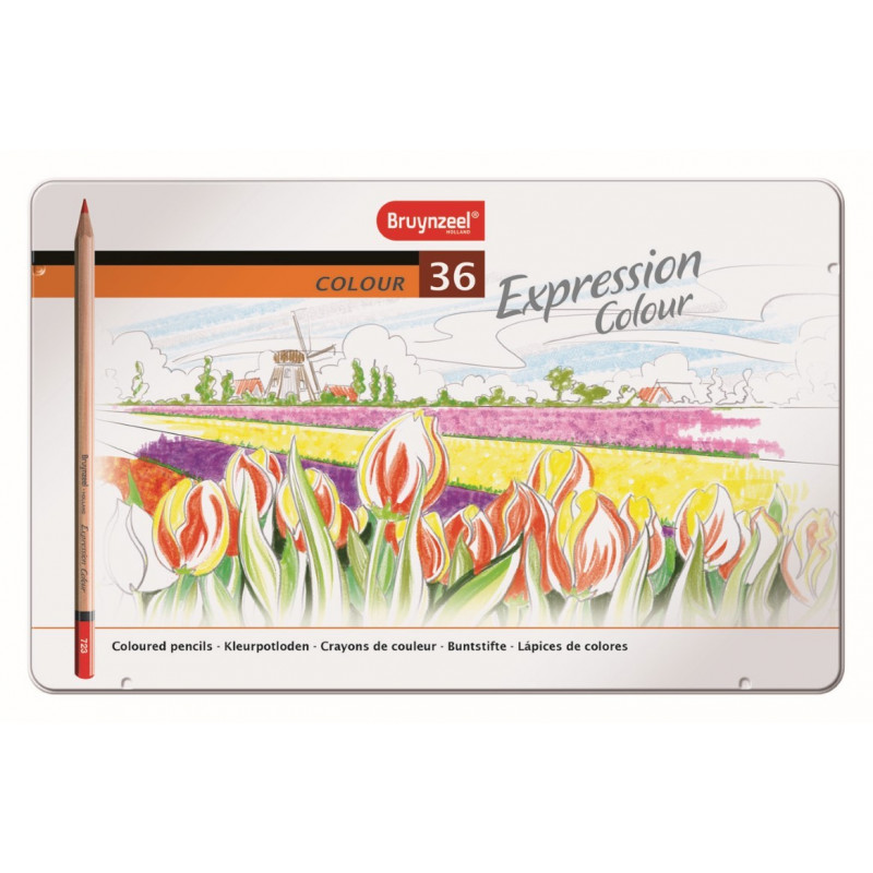 BRUYNZEEL Expression couleur 36 Crayons