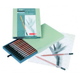 Design set de 12 crayons Graphite