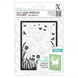 Cut & Emboss Folder - Fenêtre Papillons 110 x 150mm
