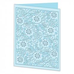 Cut & Emboss Folder - Motifs fleurs 110 x 150mm