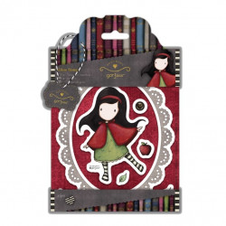 Tampons Urban Stamps (3pcs) - Simply Gorjuss - Little Red