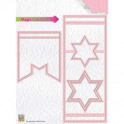Magic Card Dies - Etoile 6.5 x 16.5 cm